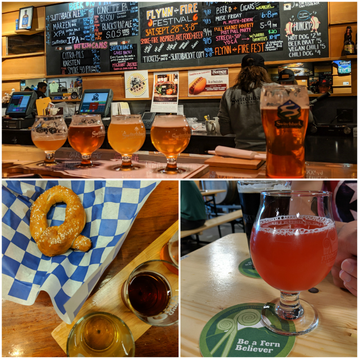 Switchback brewery, queen city brewery, fiddlehead brewery | 11 Ways to Fill Your Days During a Weekend in Vermont | #vermont #burlington #newengland #craftbeer