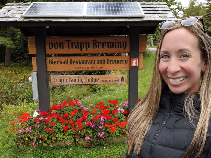 Von Trapp brewery and bierhall in Stowe, VT   11 Ways to Fill Your Days During a Weekend in Vermont   #vermont #burlington #newengland #vontrapp #craftbeer
