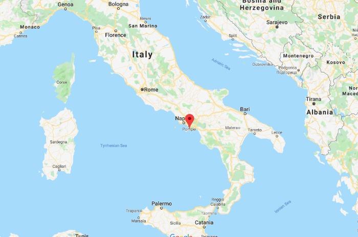 Where is the Path of the Gods / Il Sentiero degli Dei - Amalfi Coast, Italy