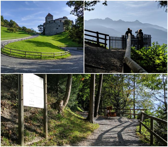 2 days in Liechtenstein   hike up to Vaduz Castle