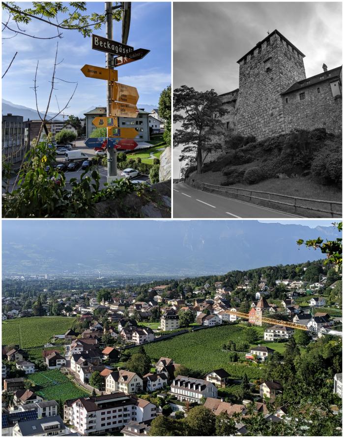 2 days in Liechtenstein | hike up to Vaduz Castle