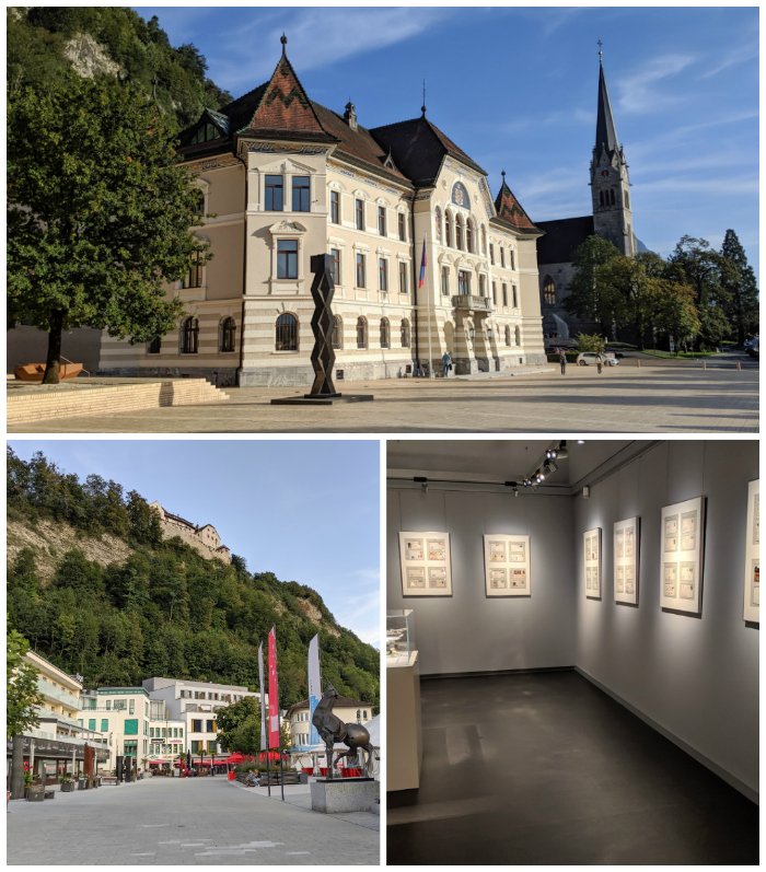 Empty streets and museums of Liechtenstein - breath of fresh air from overtourism