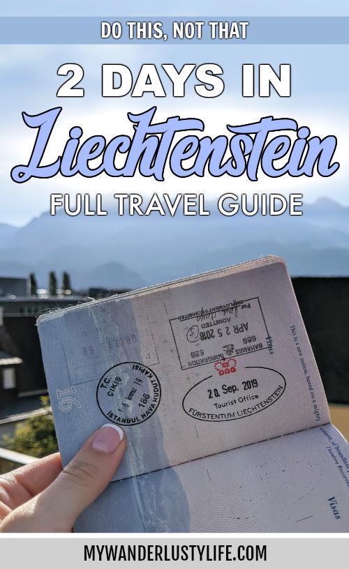 2 days in Liechtenstein / 48 hours in Liechtenstein, a full travel guide | How to get to Liechtenstein, where to stay in Liechtenstein, what to do in Liechtenstein, how to save time and money, and so much more!