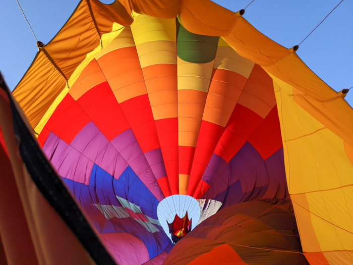 delating the balloon | What You Need to Know for Your Sunrise Hot Air Balloon Ride in Arizona | Scottsdale and Phoenix, Arizona hot air balloon rides with Hot Air Expeditions