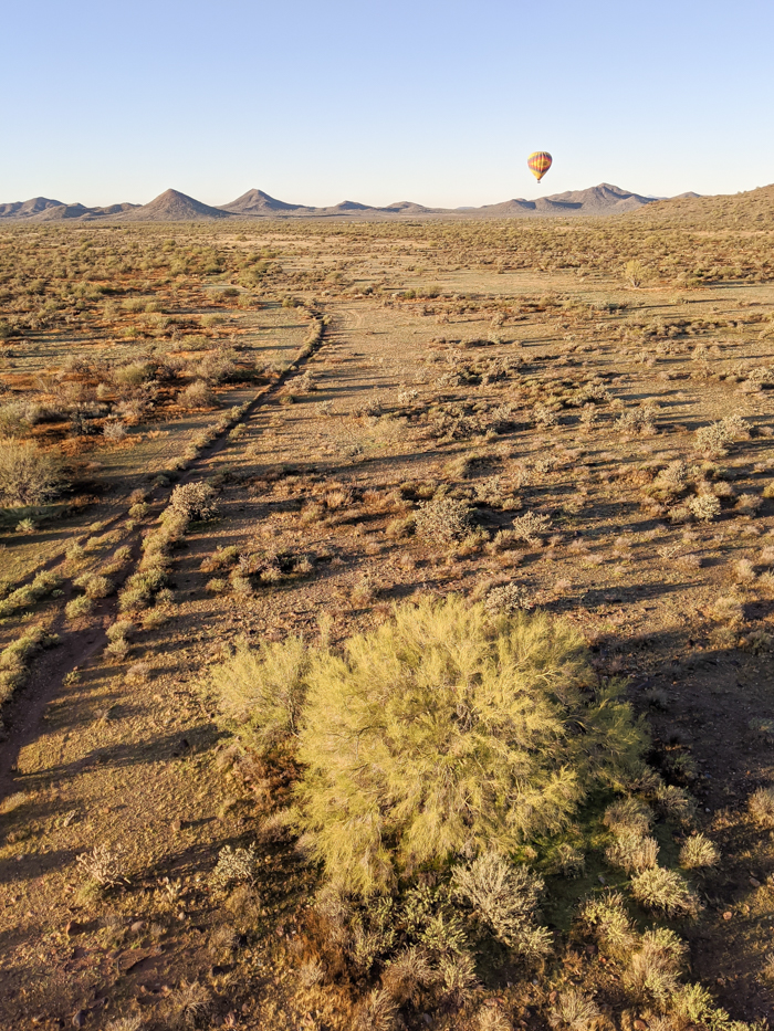 Balloons over the Sonoran desert | What You Need to Know for Your Sunrise Hot Air Balloon Ride in Arizona | Scottsdale and Phoenix, Arizona hot air balloon rides with Hot Air Expeditions
