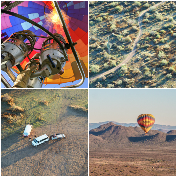 What you'll see from a hot air balloon in arizona | What You Need to Know for Your Sunrise Hot Air Balloon Ride in Arizona | Scottsdale and Phoenix, Arizona hot air balloon rides with Hot Air Expeditions