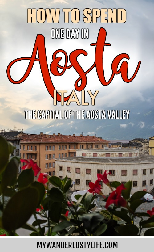 Roman ruins + the Alps | How to Spend 1 Day in Aosta, Italy // The Capital of the Aosta Valley | Things to see in Aosta, Things to do in Aosta, Where to eat in Aosta, the smallest of Italy's 20 regions #aosta #italy #aostavalley #traveltips #timebudgettravel #romanruins #ancient #ruins