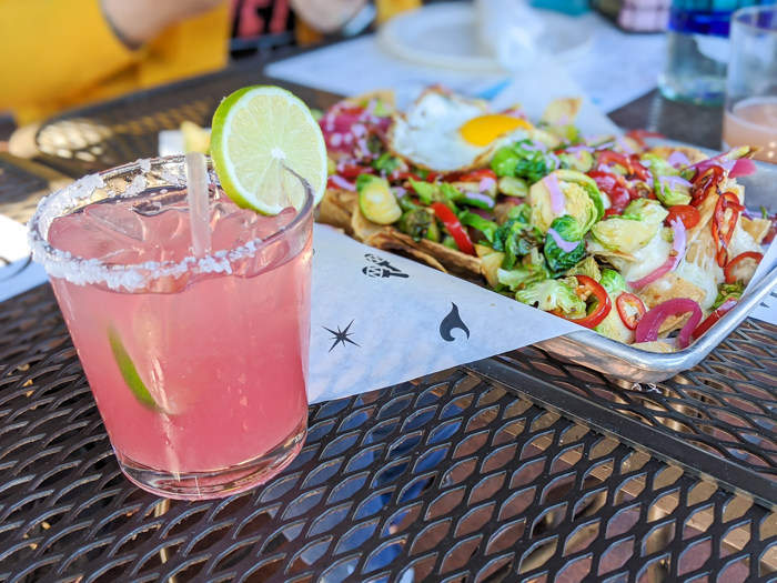 4 Days in Scottsdale, Arizona // A Jam-Packed Itinerary With a Bit of Everything | Where to eat in Scottsdale: diego pops, mexican food #margarita #nachos #diegopops #scottsdale