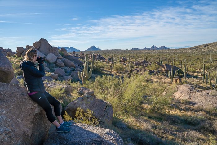 4 Days in Scottsdale, Arizona // A Jam-Packed Itinerary With a Bit of Everything | Things to do in Scottsdale: mountain biking in the McDowell Sonoran Preserve with REI adventures #rei #scottsdale #arizona #desert #mountainbiking