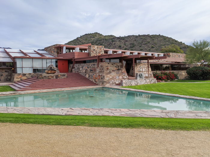 4 Days in Scottsdale, Arizona // A Jam-Packed Itinerary With a Bit of Everything   Things to do in Scottsdale: Frank Lloyd Wright's Taliesin West tour, #scottsdale #franklloydwright #architecture