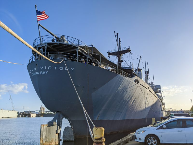 7 Terrific Tours to Take in Tampa, Florida   SS American Victory Ship & Museum, WWII cargo ship #tampa #florida #ship #WWII