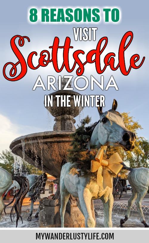 Offseason Arizona: 8 Reasons to Visit Scottsdale in the Winter / Scottsdale, Arizona / #scottsdale #arizona #wintertravel