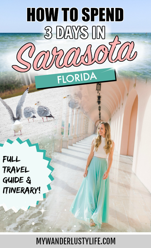 3 Days in Sarasota, Florida / What to do and where to stay, all the best things to do in Sarasota, a relaxing guide (but fun-filled), best beaches in the country #sarasota #florida #gulfcoast #beach #siestakey