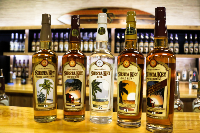 Siesta Key rum distillery / 3 days in Sarasota, Florida / What to do in Sarasota, Where to eat in Sarasota, itinerary and information guide