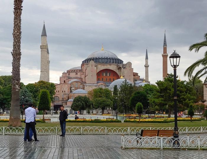 aya sofia in istanbul turkey