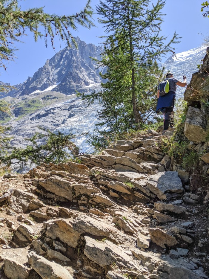 Awesome things to do in Chamonix in the summer: Alpine bucket list / rocky trail