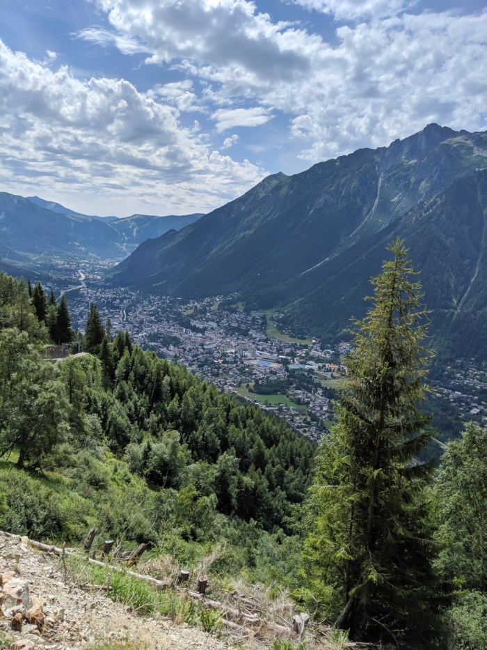 Awesome things to do in Chamonix in the summer: Alpine bucket list / valley view