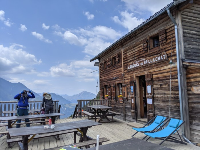 Chamonix in the summer travel guide: Where to stay in Chamonix, Refuge Bellachat