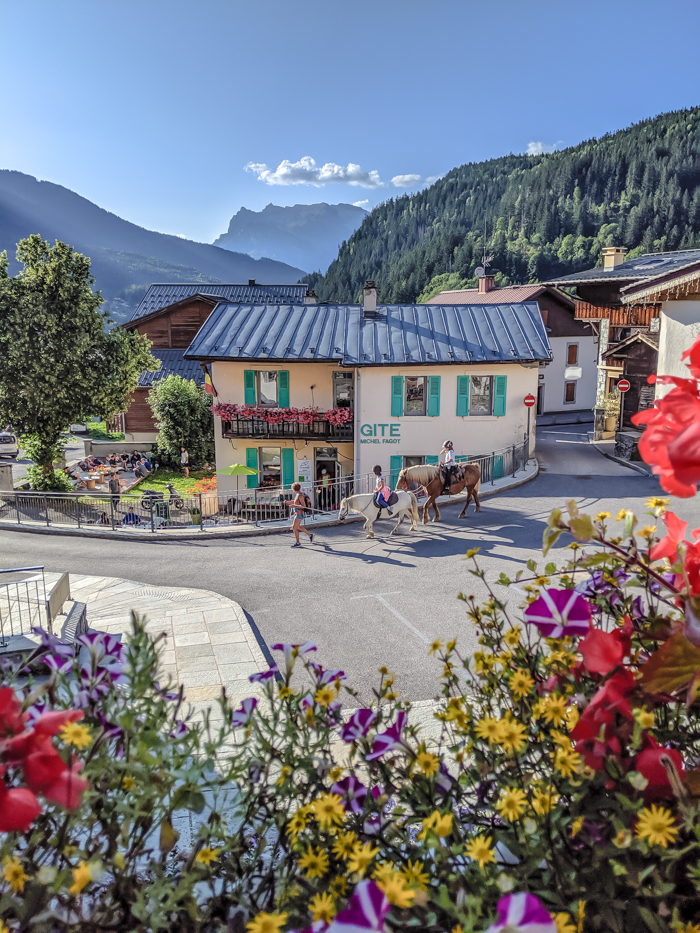 Chamonix in the summer travel guide: Where to stay in Les Houches, Gite Michel Fagot