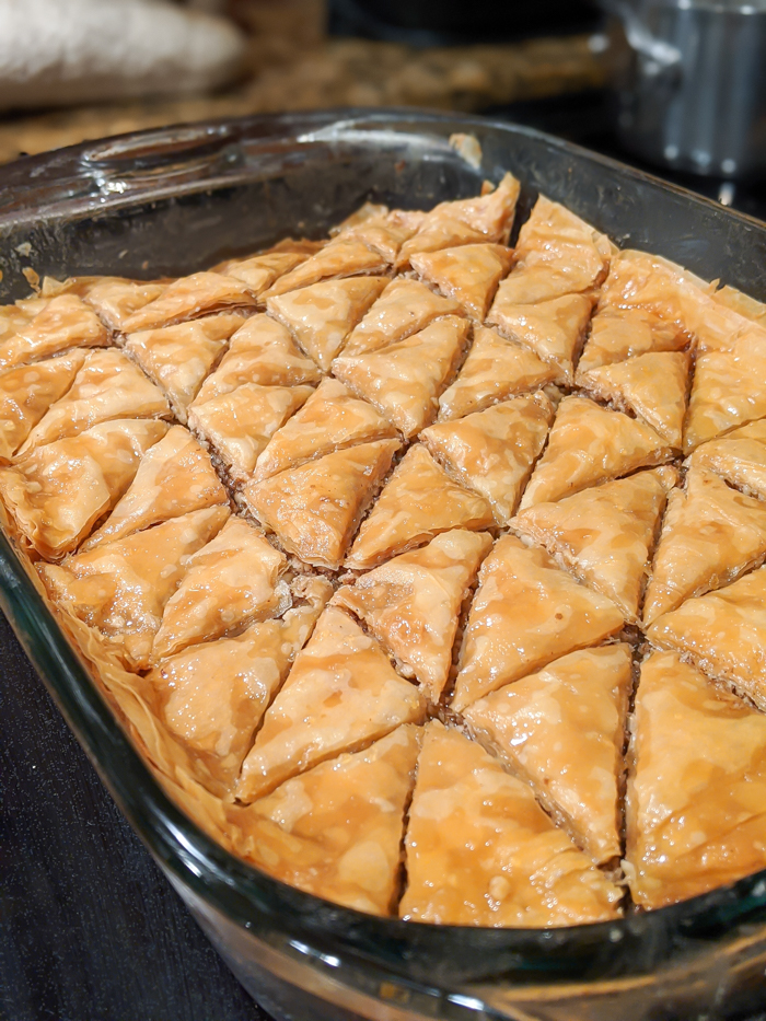 delicious, simple honey walnut baklava recipe