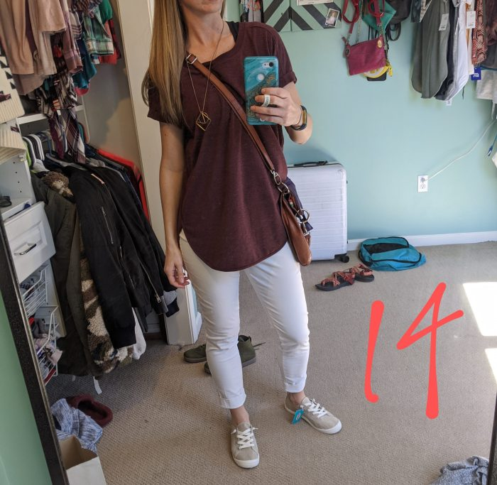 tips for planning quick trips: take a picture of every outfit beforehand