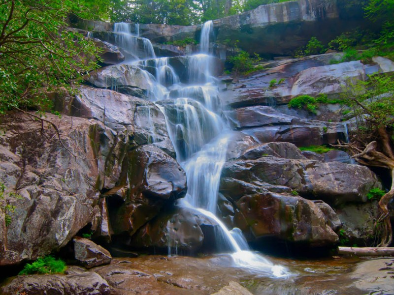 what to do in gatlinburg and pigeon forge tennessee - Ramsey Cascades, hiking