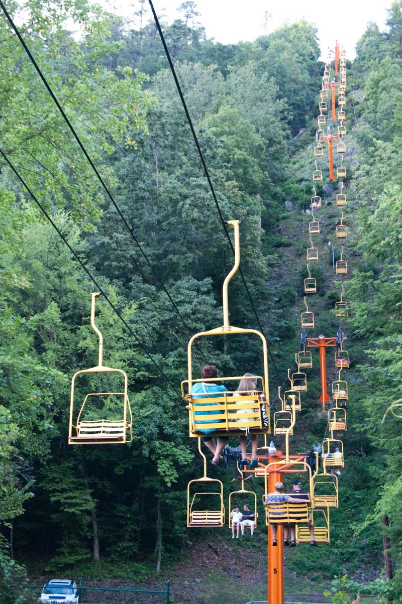 what to do in gatlinburg and pigeon forge tennessee - Gatlinburg SkyLift
