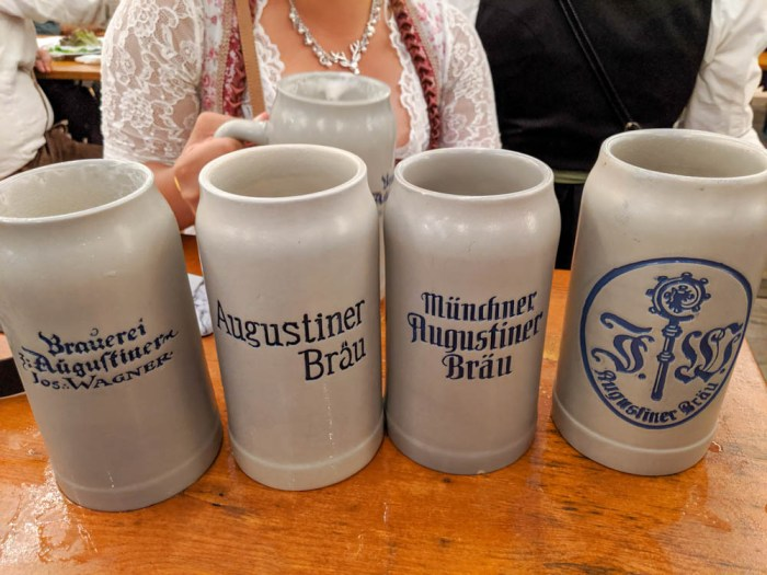 Oktoberfest party beer: What kind of beer to serve at your oktoberfest party | Augustiner mass at Oktoberfest in Munich, Germany