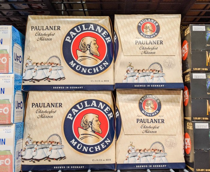 Oktoberfest party beer: What kind of beer to serve at your oktoberfest party | Paulaner Oktoberfest from Munich, Germany