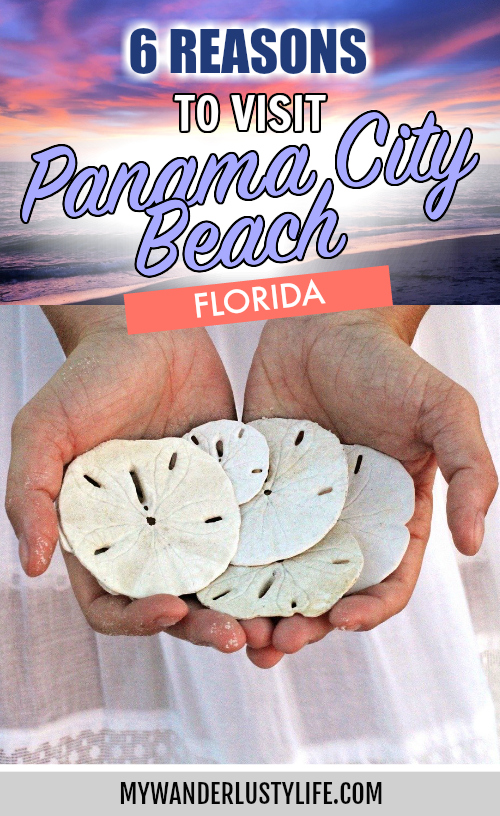 Why visit Panama City Beach, Florida | Reasons to visit Panama City Beach on Florida's Panhandle #panamacity #panamacitybeach #florida #sunsets #mywanderlustylife
