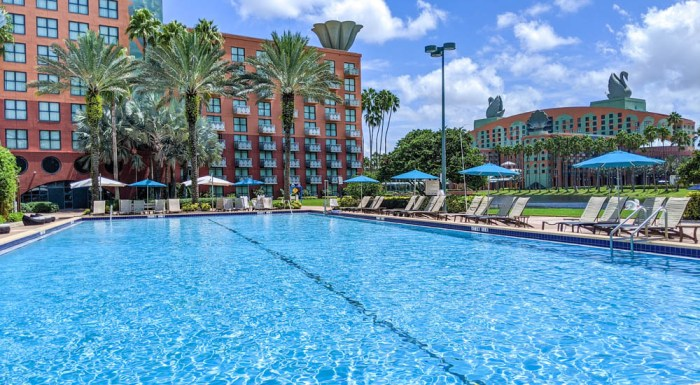 Visiting Disney World During the Pandemic: Everything You're Dying to Know | Disney World in 2020, what it's like to visit disney world right now. | Dolphin resort pool