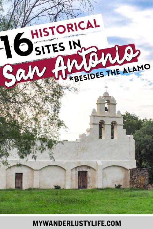 Historical sites in San Antonio, Texas | San Antonio Missions, historic hotels in san antonio, where to stay in san antonio #mywanderlustylife #sanantonio #texas #missions