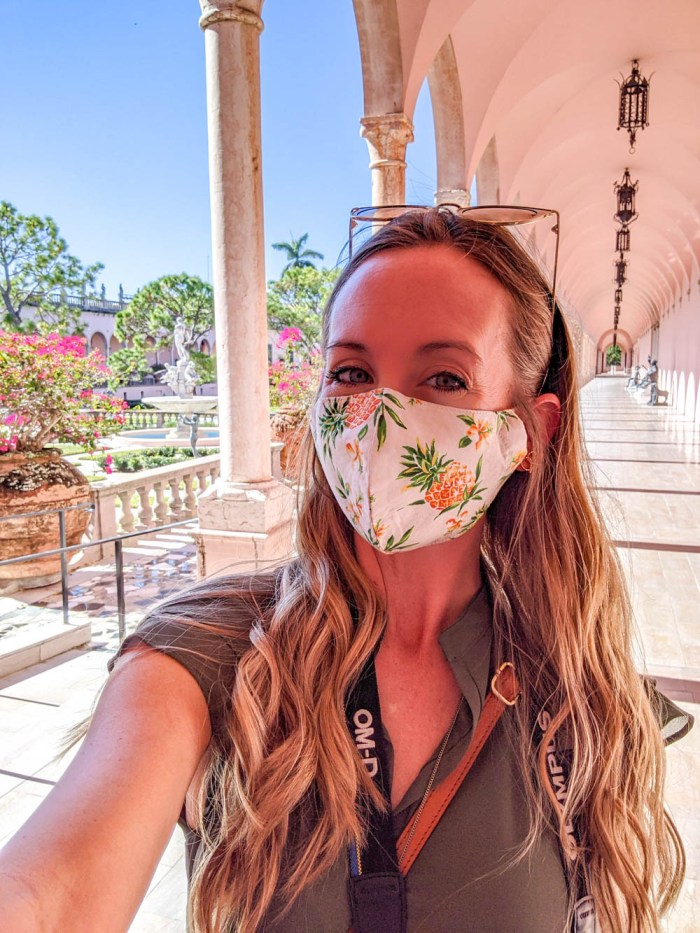 Cloth face masks | Must-Have Travel Safety Items: 17 Essentials for Your Travel Safety Kit | Travel health and safety | solo female travel safety