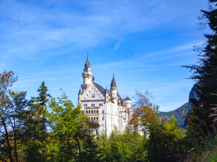 back view   10 Crucial Tips to Visit Neuschwanstein Castle Skillfully and Worry-Free   Tips for visiting Neuschwanstein Castle in Bavaria, Germany   Neuschwanstein Castle tour tickets