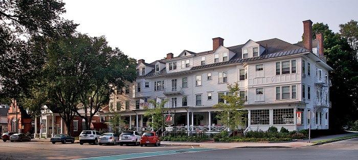 Front of the Red Lion Inn, Stockbridge, Massachusetts, Berkshires