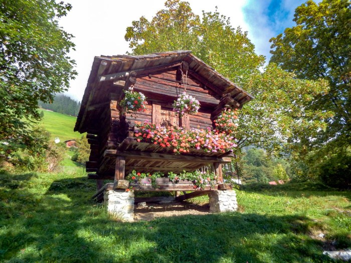 Gimmelwald Swiss Alps chalet | Where to stay in Gimmelwald, Switzerland: Mountain Hostels and B&Bs | Best places to stay in Gimmelwald