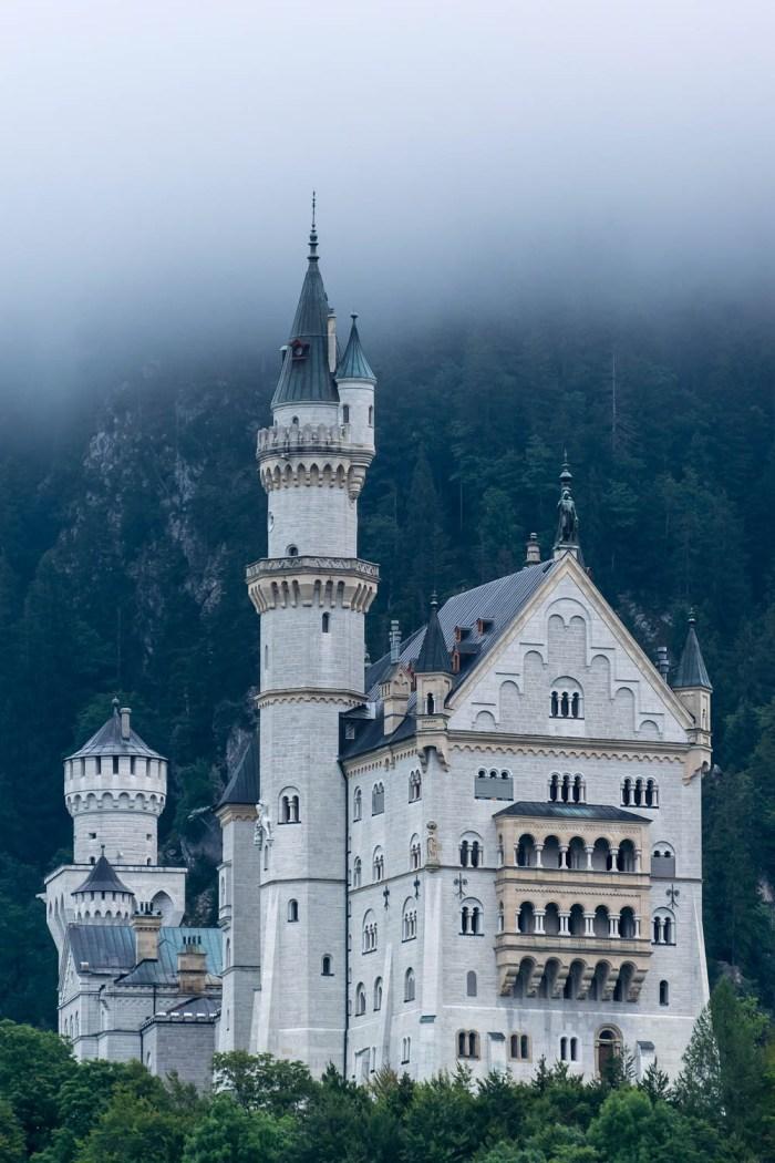 Close-up view | Where to stay near Neuschwanstein Castle: 12 Best Hotels and Airbnbs in Hohenschwangau, Schwangau, and Füssen