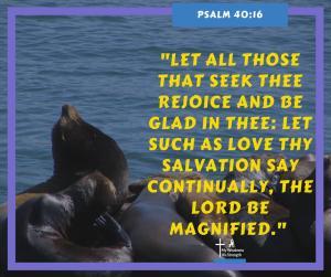 Psalm 40:16
