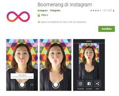 Boomerang è un tool della suite di Instagram