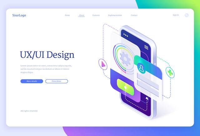Copywriting user interface design siti web e-commerce app