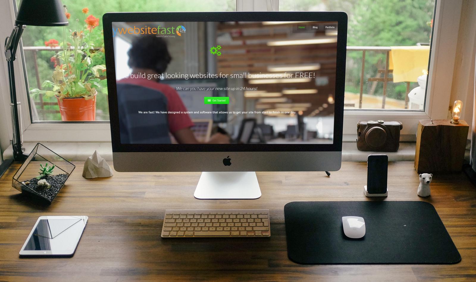 MWF Home Page iMac