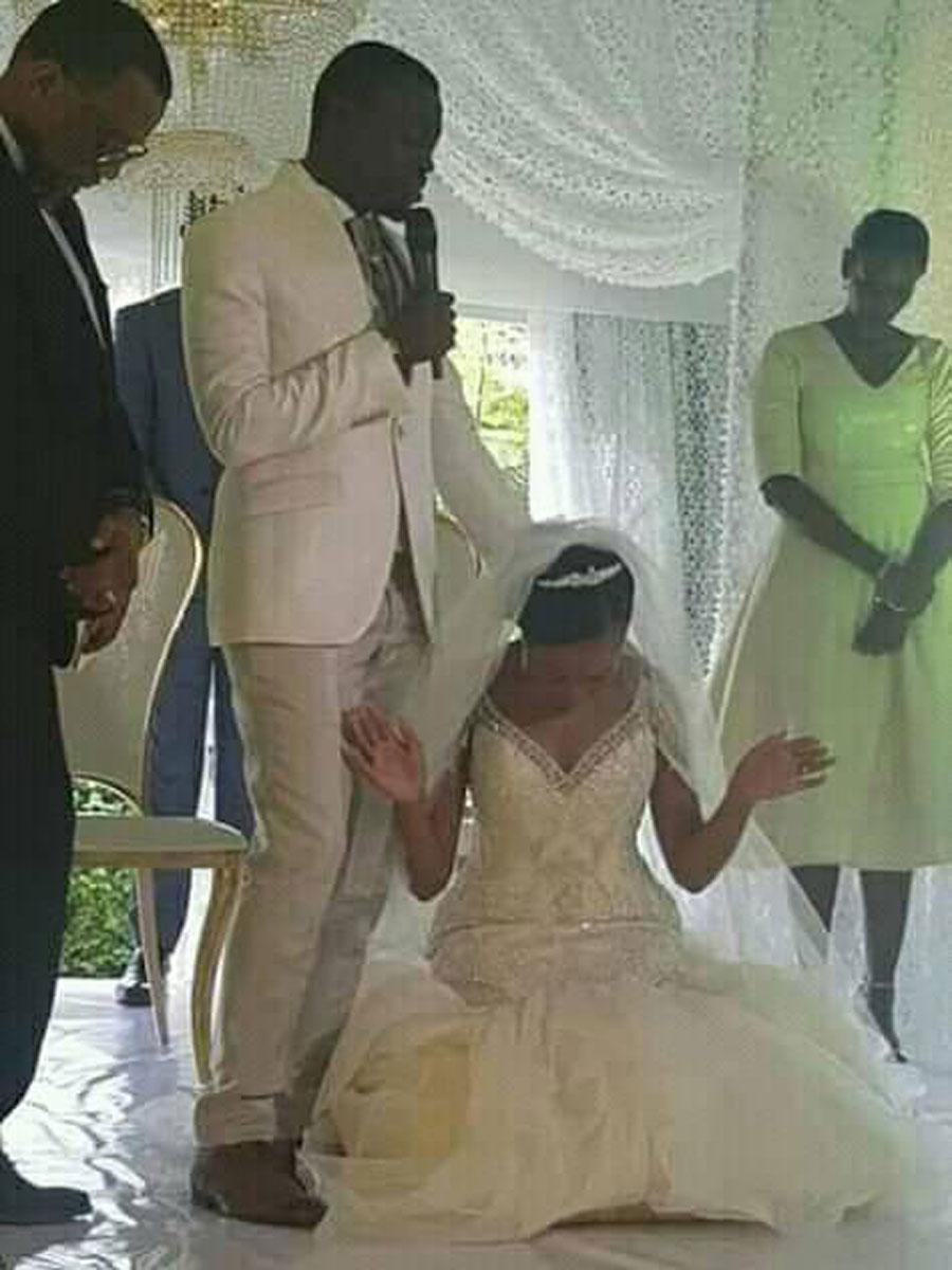 Phaneroos Apostle Grace Lubega Weds Nicole Kavuma My Wedding For Fashion Uganda Wedding