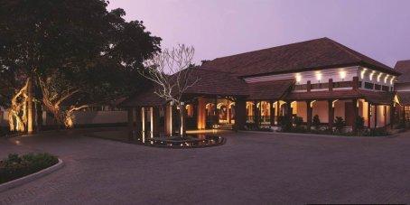 Alila Diwa Goa Entrance