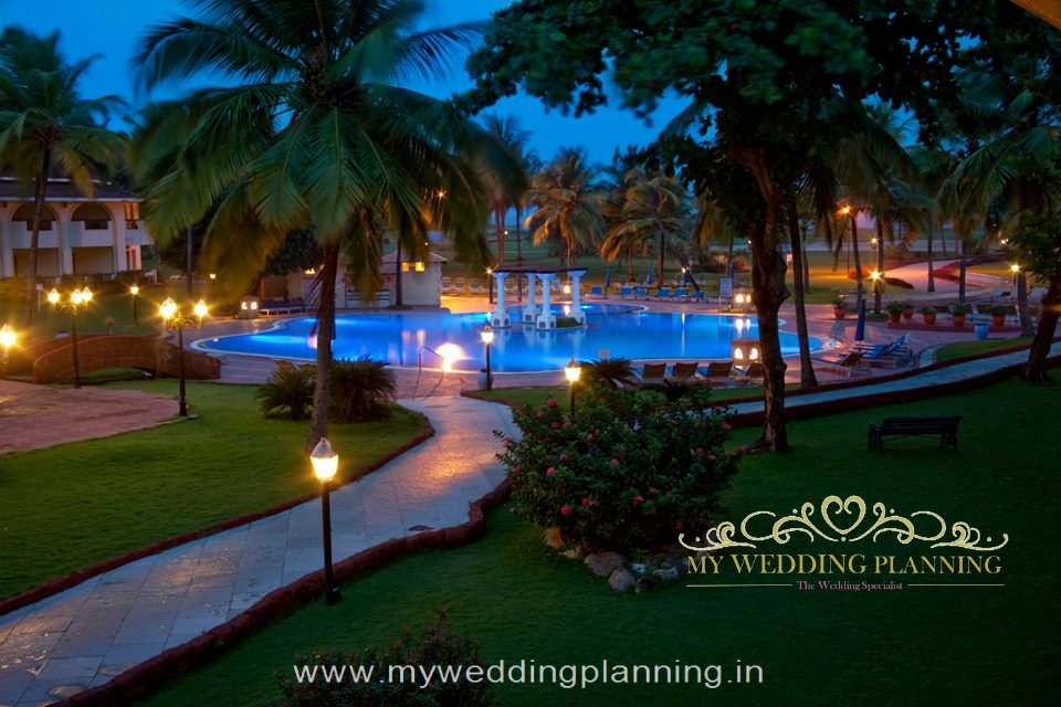 Evening View of pool