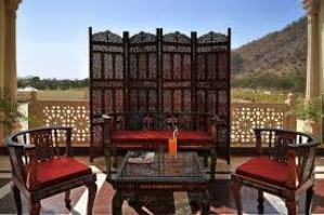Rajasthali Resort & Spa Patio