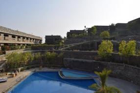 Ramada Udaipur Pool Area