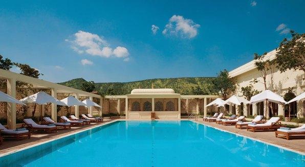 Trident Jaipur Pool Area