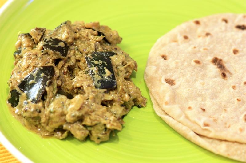 paanch phoran brinjal, eggplant with bengali panch phoran spices, panch phoran recipe