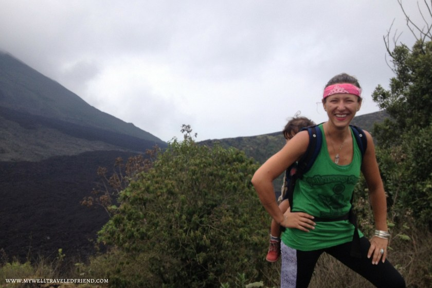 Anna and Oscar climb Pacaya in Guatemala and tell you how its done. www.mywelltraveledfriend.com