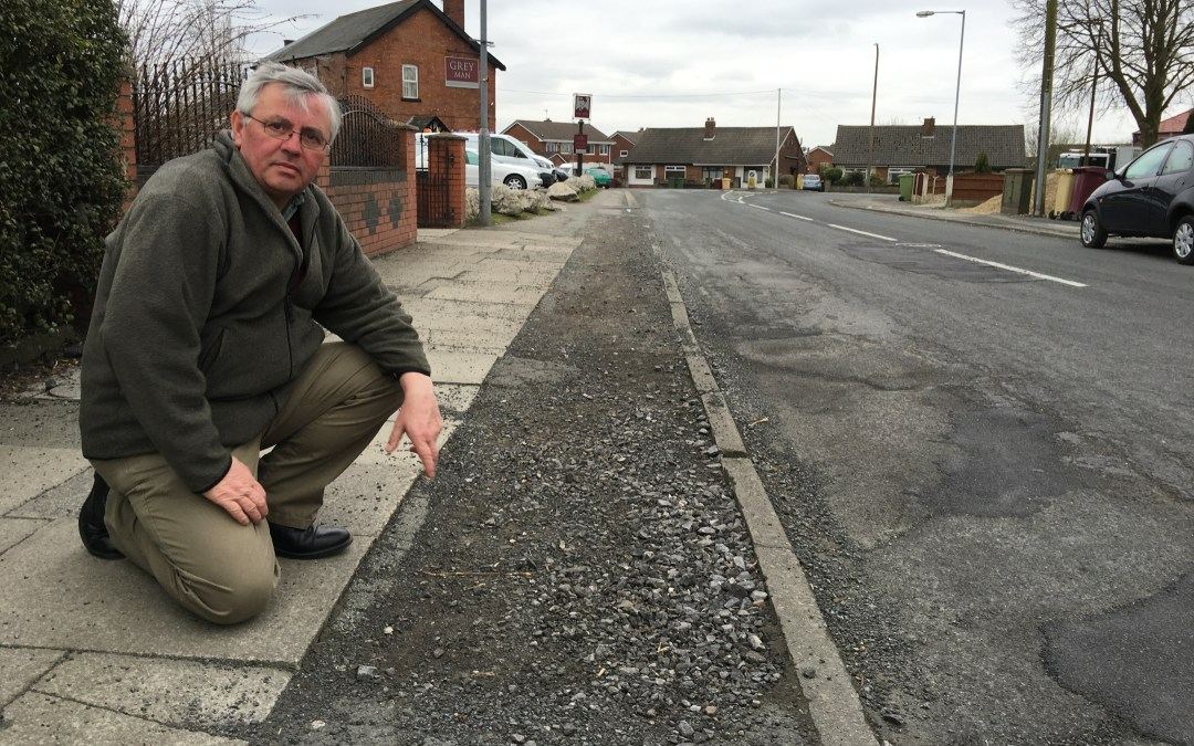 How Daisy Hill's road and footpaths were left to crumble by Bolton Council